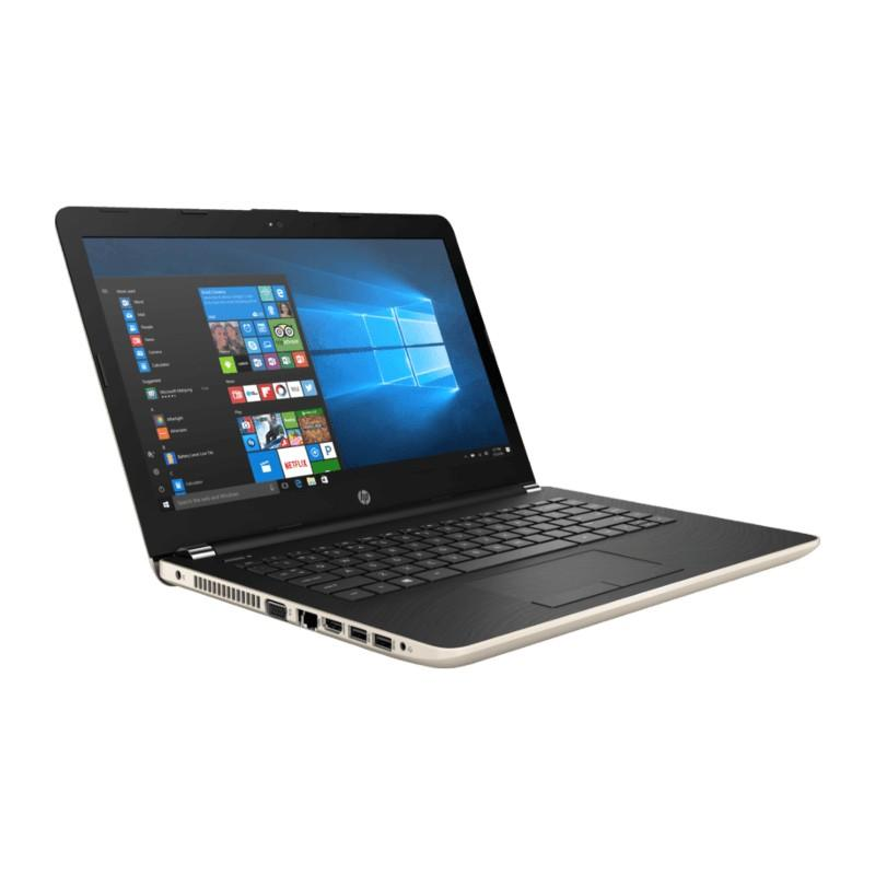Laptop HP 14-BW 023 Gold [ Processor AMD A9 9420 / RAM 4GB /HDD 1TB /Ati RAdeon M520 / Win 10 ]