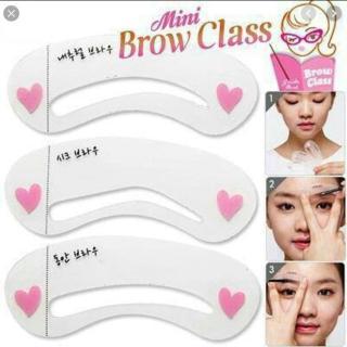 Mini Brow Class Cetakan Alis Isi 3 Pcs - 1 Pcs thumbnail