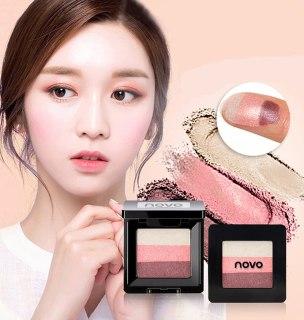 NEW Eyeshadow Palette 3 Warna NOVO thumbnail