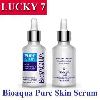 COD - Bioaqua Pure Skin Acne Brightening - Serum Obat Jerawat Paling Ampuh - Cream Jerawat Ampuh Serum Jerawat Dan Bekasnya thumbnail