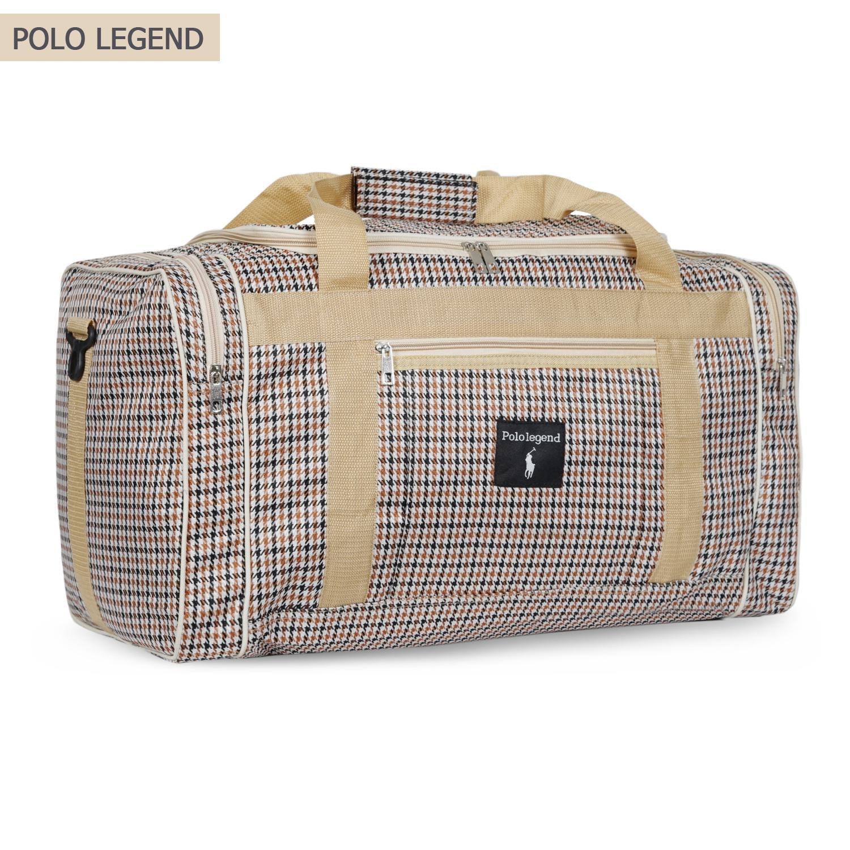 Tas Pakaian Tas Baju Tas Jalan Jalan Tas Mudik Tas Travel Pria dan Wanita POLO LEGEND Travel Bag MEDIUM BROWN