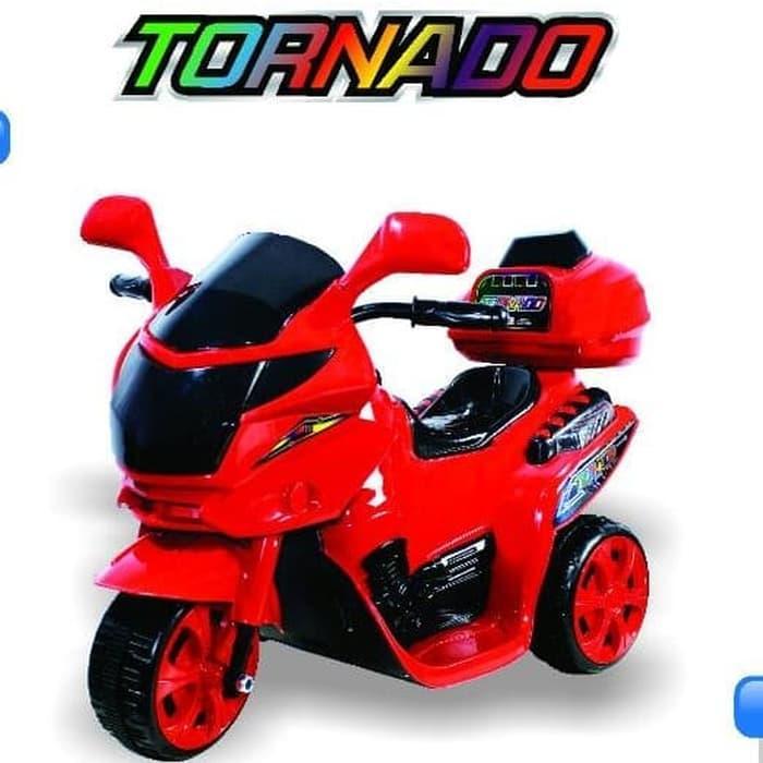 Motor Aki Tornado Mainan Anak - Gosend Only By Yevan6.
