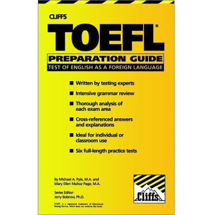 Cliffs Toefl Preparation Guide With Cd By Bukutoeflcom Group.