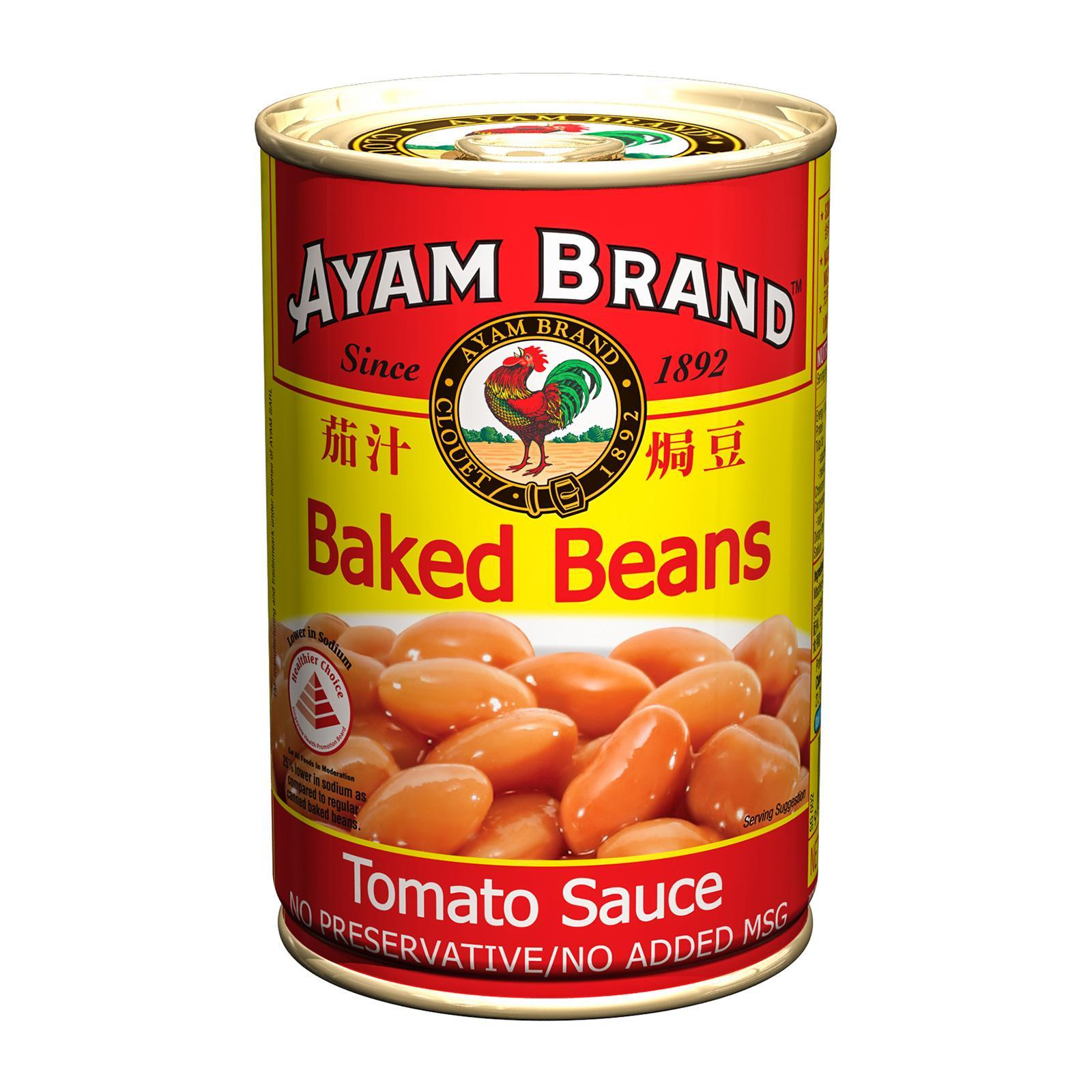 Ayam Brand Baked Beans in Tomato Sauce