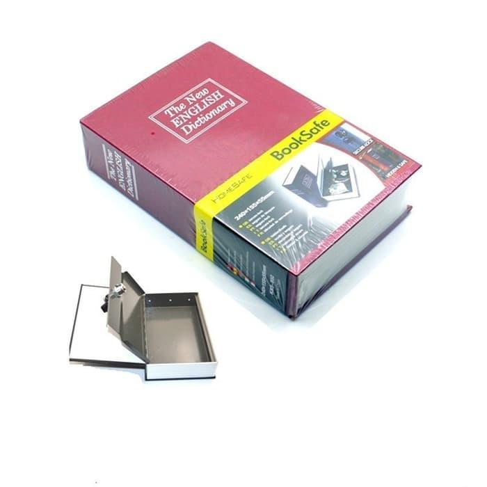 Best Seller Brankas Buku + Kunci Gembok Medium