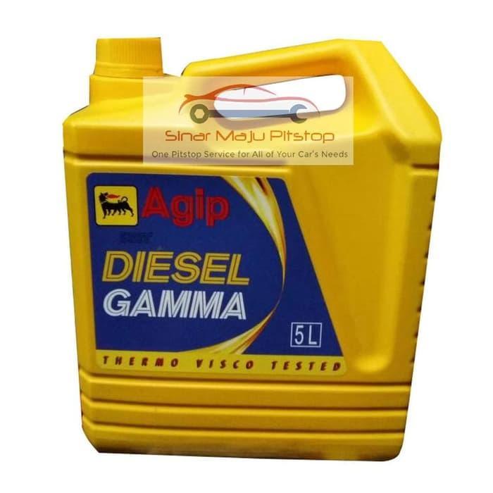 Agip Diesel Gamma SAE 40 - Pelumas Oli Mesin Mobil Diesel - Truk -
