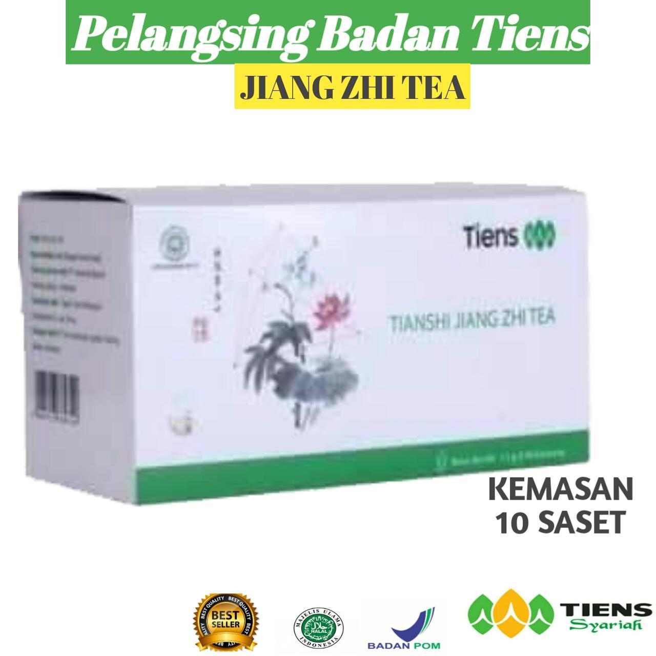 Tiens Penghancur Lemak Dan Pelangsing Badan Teh Jiang Zhi Tea Paket Hemat 10 Saset 100% Original By Bakul Tiens Herbal By Bakul Tiens Herbal.