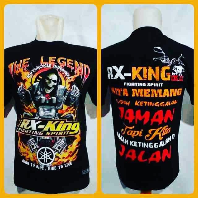 Kaos Rxking kaos motor Rxking RX006 kaos pria kaos biker tshirt yamaha Rxking tshirt rxking baju