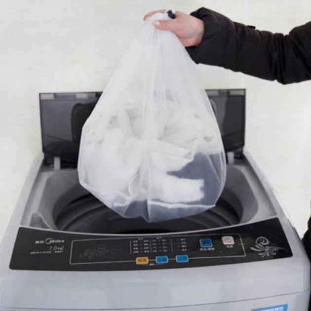 Aoli Kantung Baju Mesin Cuci Laundry Bag Divider Hsi013 By Aoli.