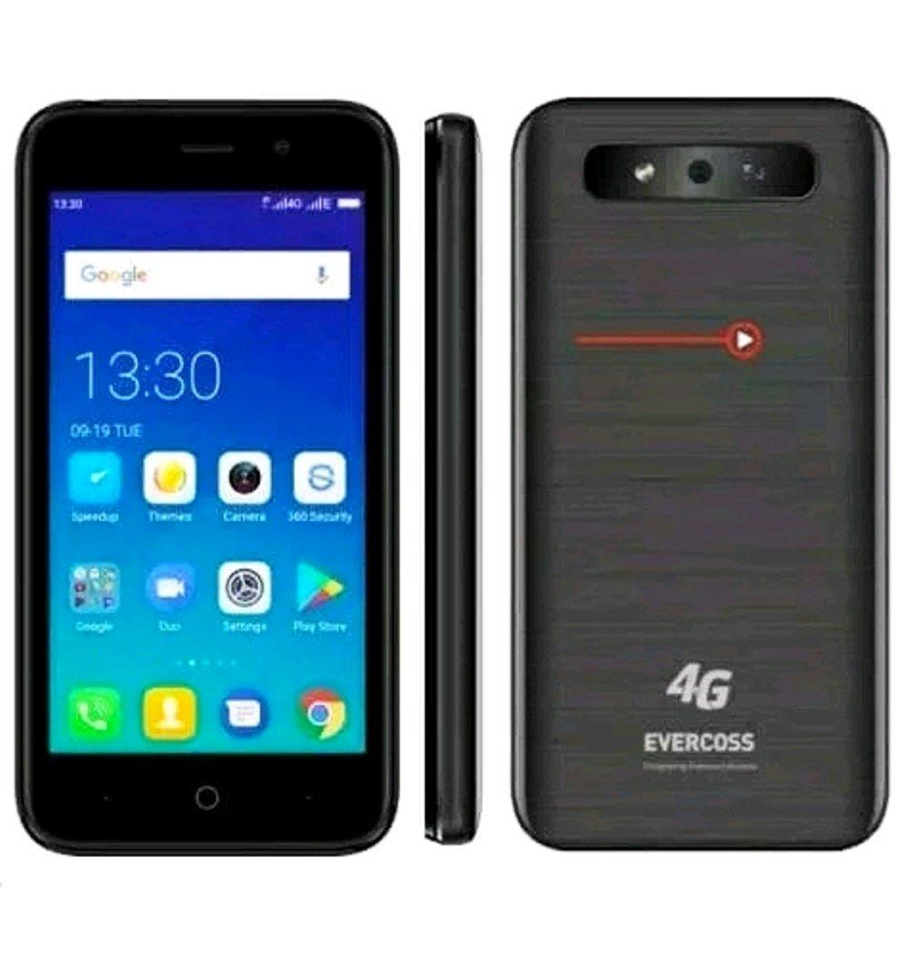 EVERCOSS S45 XTREAM 1 4G LTE RAM 1GB/8GB DISPLAY 4.5 INCH DUAL SIM ANDROID OS NOUGAT