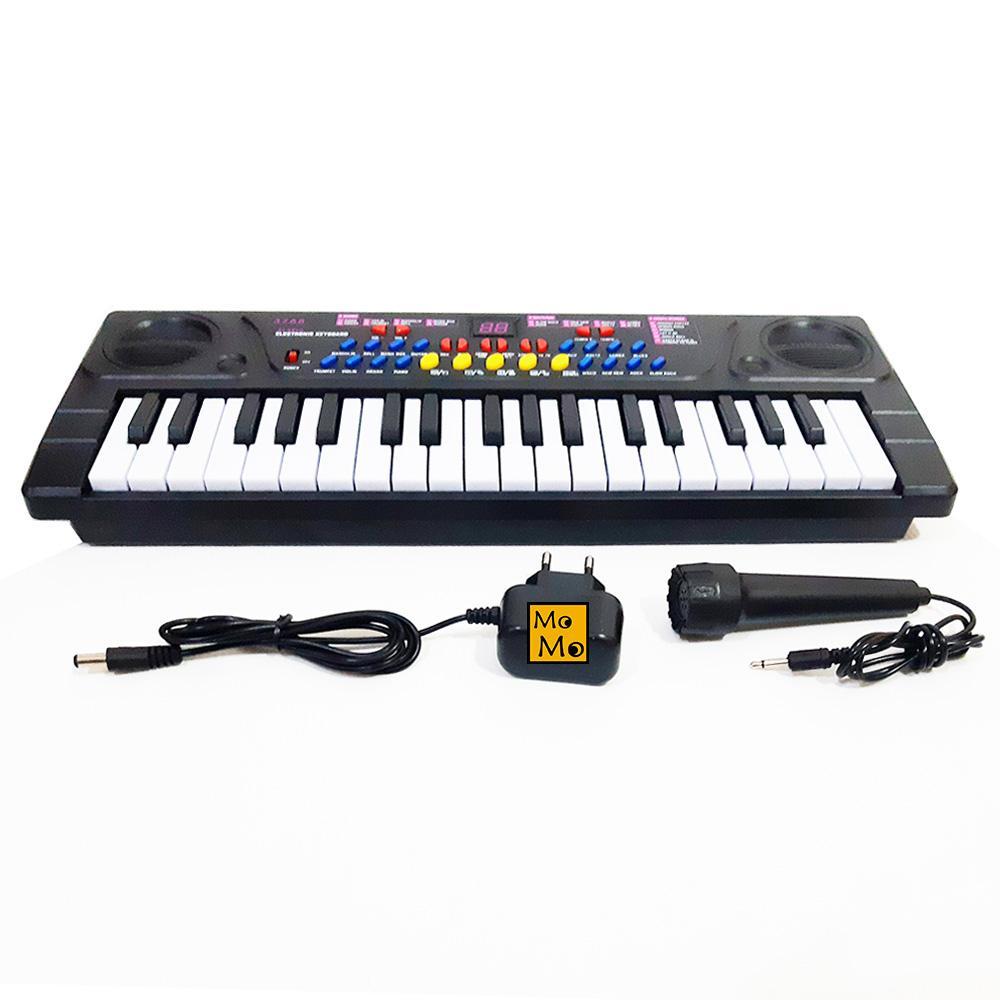 Aa Toys Electronic Keyboard 3768 - Mainan Piano / Mainan Anak / Mainan Musical / Mainan Musik Anak By Plasamainan.