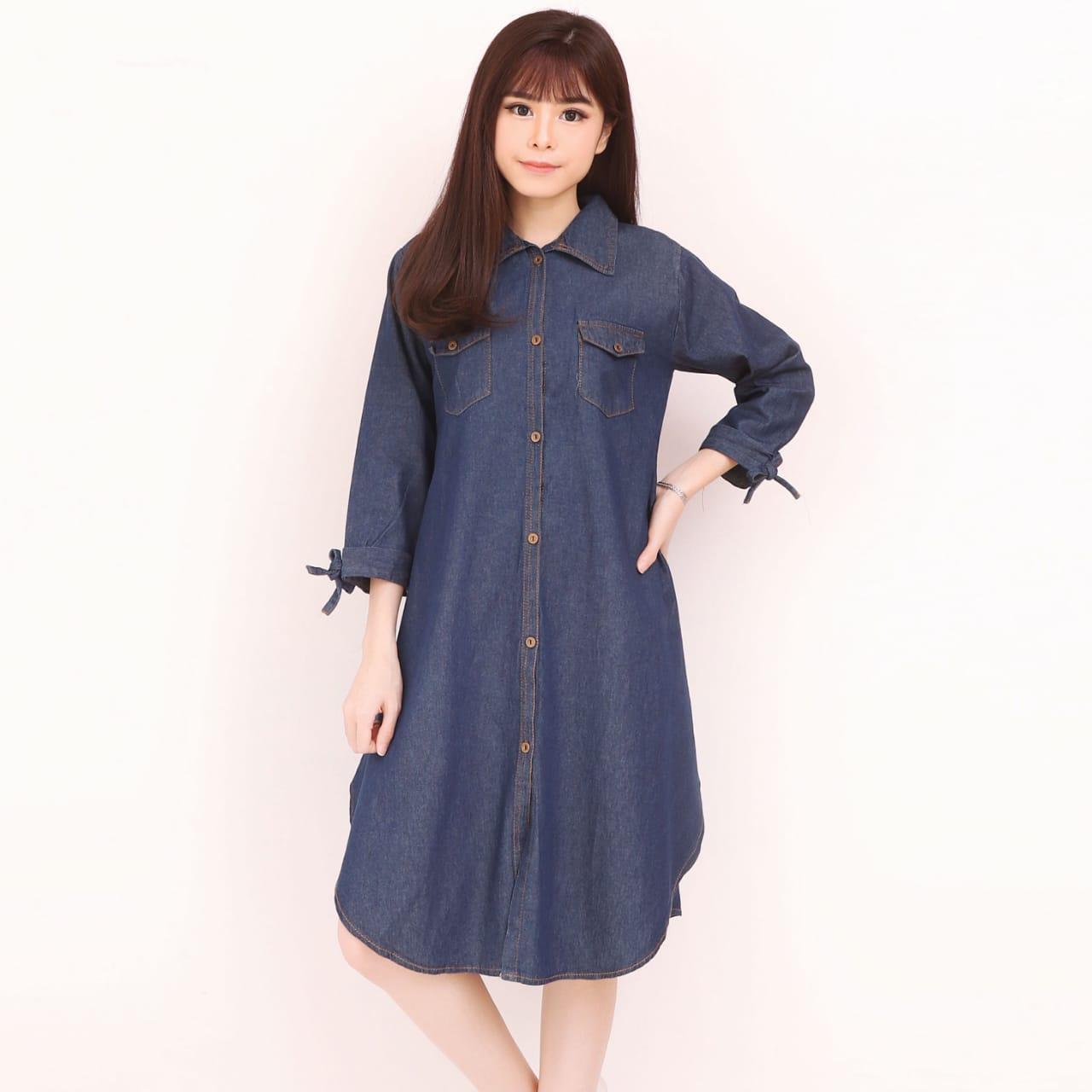 Harga SB Cillection Atasan Blouse Babydoll Jeans Kemeja Biru Muda Source · Cj collection Atasan blouse kemeja jeans wanita jumbo shirt SyuanaIDR100800 Rp ...
