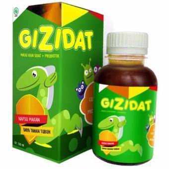MADU ANAK GIZIDAT Omega 3, 6 dan 9 serta Vitamin A dan B 130ml Madu Hutan dan Ikan Sidat asli