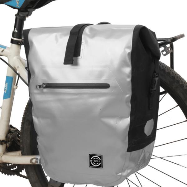 New Bicycle Rear Seat Luggage Carrier Large Capacity Waterproof Pannier Bag