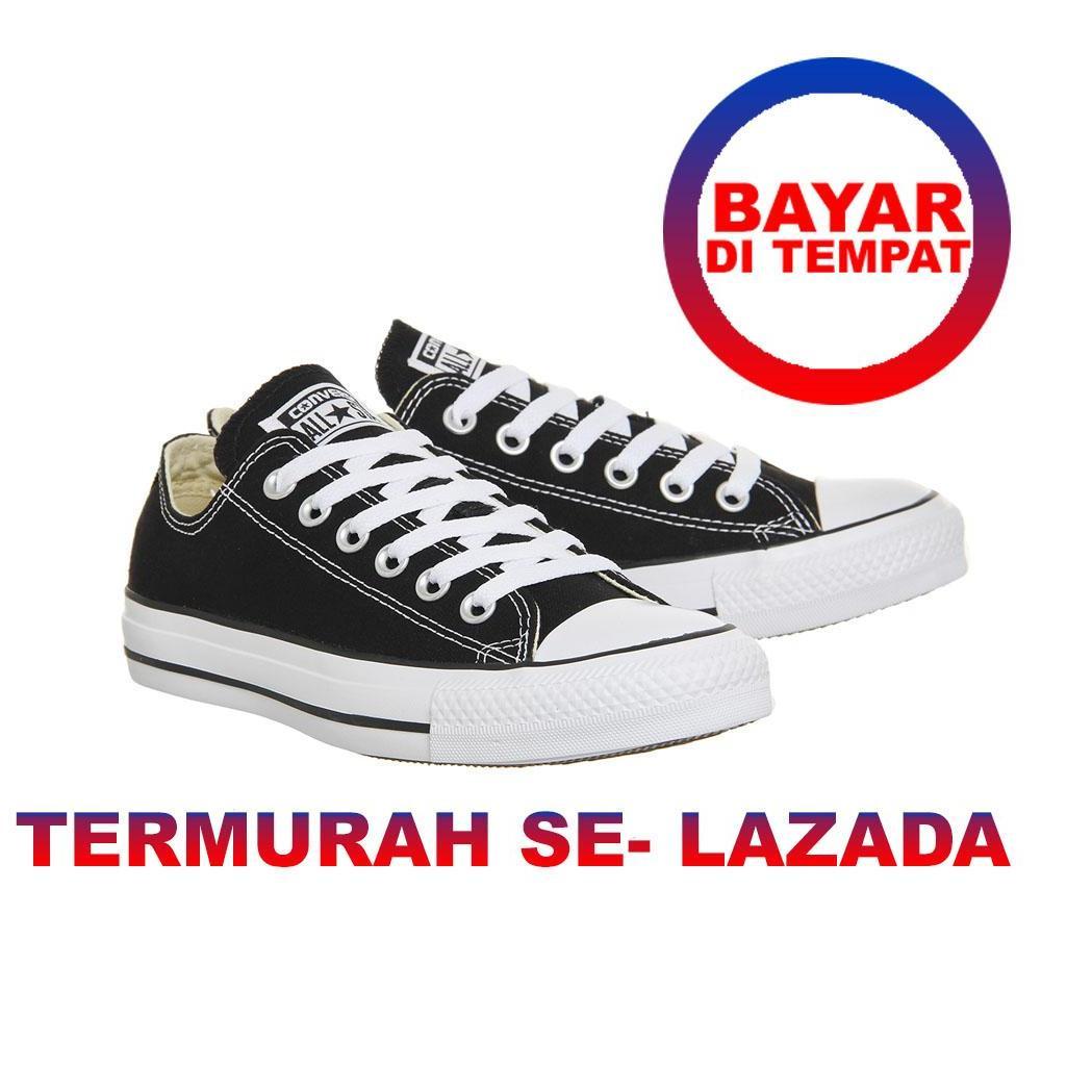PD CLOTH Sepatu AllStar Wanita Sneakers Casual All Star Hitam Sepatu Pria  Unisex termurah untuk sekolah 83ff23ad4f