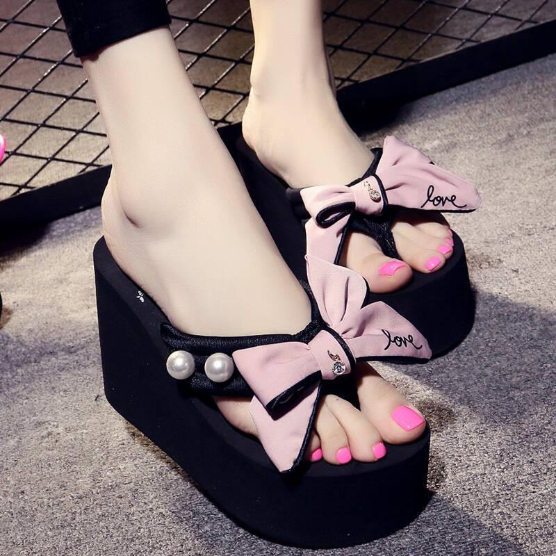 595878051467 Jual Sandal Wedges Terbaru