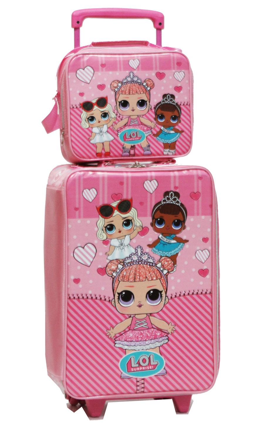 Onlan Set Koper dan Lunch Bag Anak Bahan Sponge Tahan Air LOL - Little Pony -