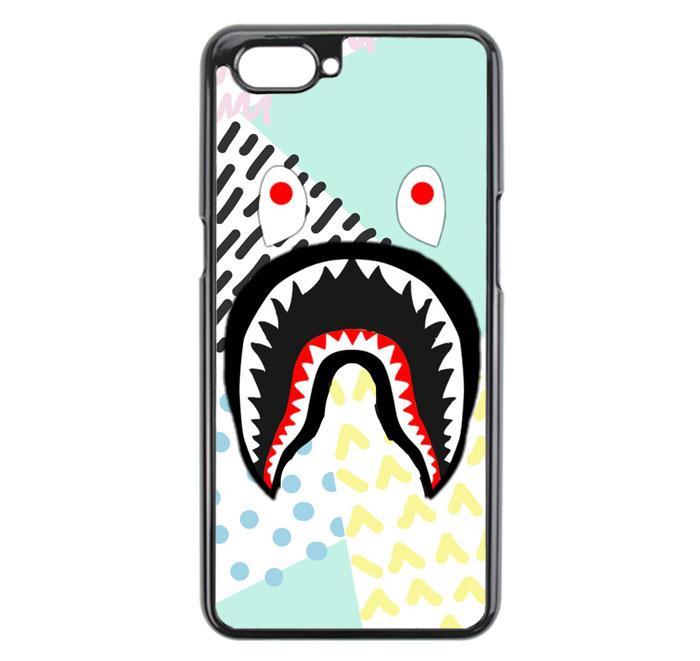 Casing For Oppo A3S Bape Shark Fullcolor E1752