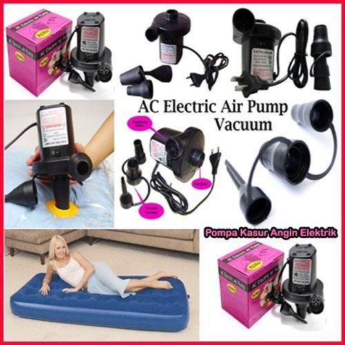 Pompa Angin Listrik Tiup Dan Sedot AC Electric Air Pump Vacuum untuk Kasur,Sofa Kolam Angin