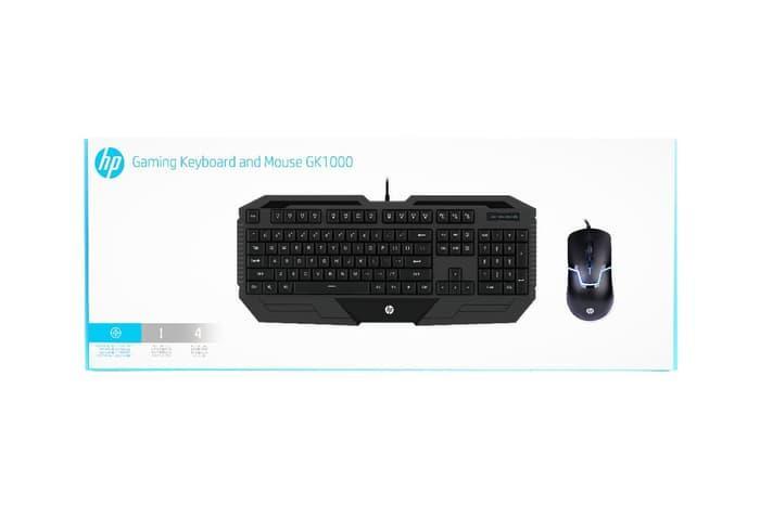 TERBARU TERMURAH Keyboard + Mouse HP GK 1000 PROMO