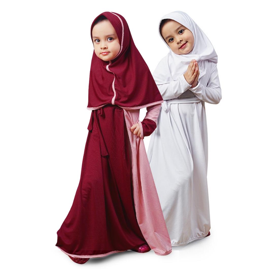 Bajuyuli - Baju Gamis Anak Perempuan Murah Jersey Premium Adem - MJ Series
