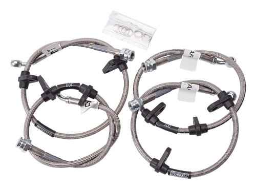 Edelbrock//Russell 693010 Direct Bolt-On Street Legal Brake Line Kit
