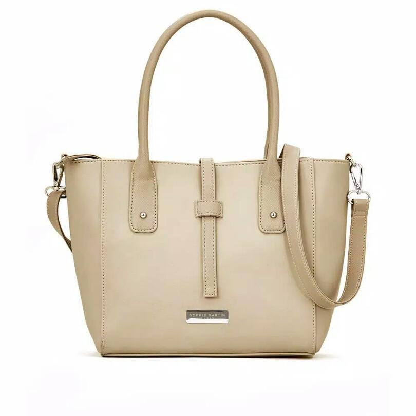 Fashion wanita import bagus sophie martin paris tas cangklong selempang  shoulder bahu tas phisma krem fd4021c2bf