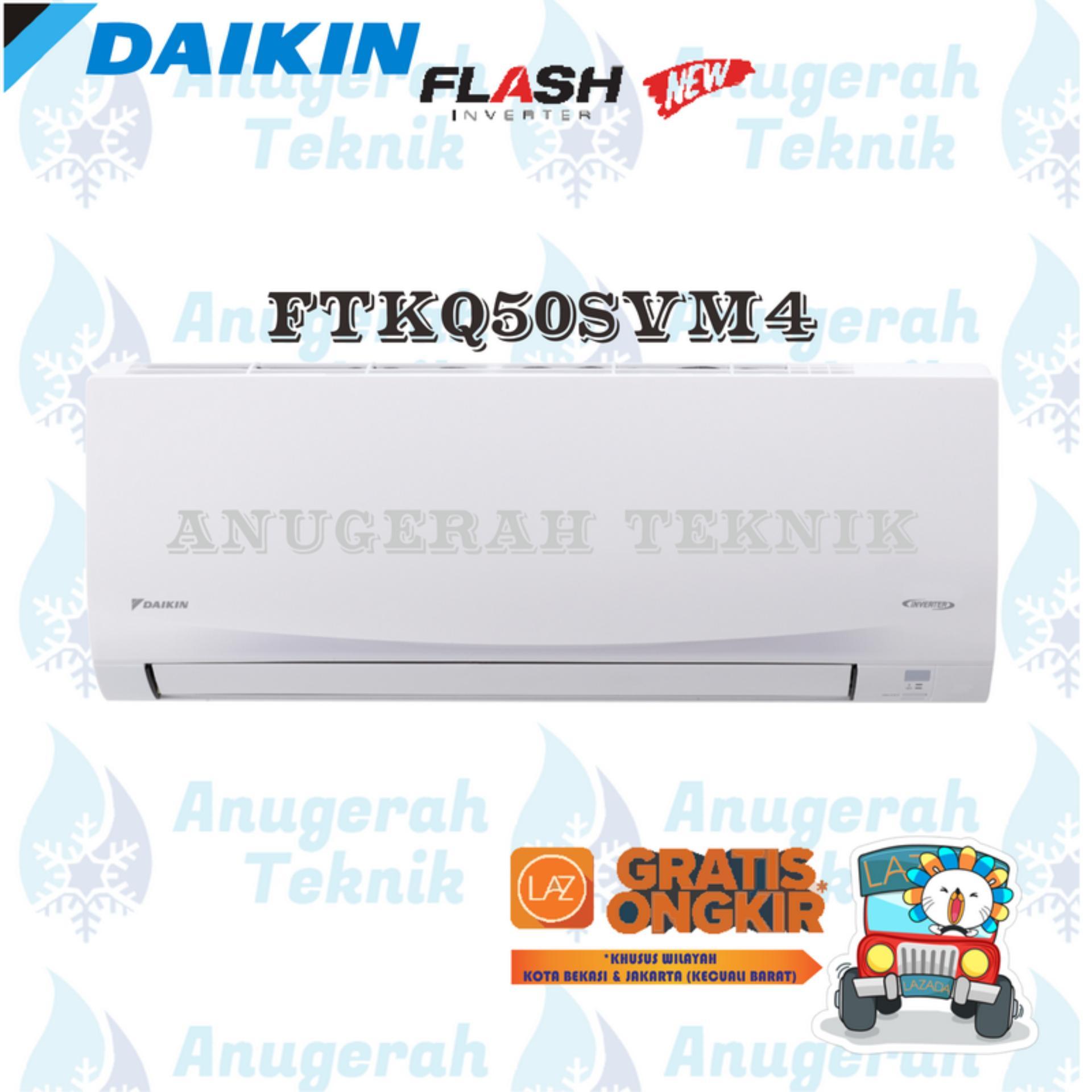 DAIKIN AC SPLIT 2 PK 2PK R32 THAILAND FLASH INVERTER - FTKQ50SVM4