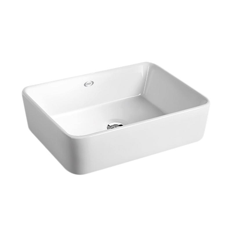 Aer Cwb 04-R Washbasin Wastafel White By Aer Sanitary Indonesia.