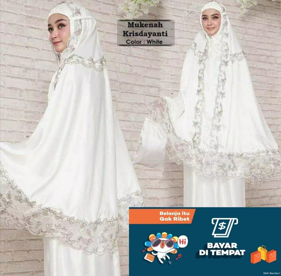 Bisa bayar di tempat(COD)- Mukena KD perlengkapan sholat muslim hijab fashion terlaris dan paling dicari/promo terbatas