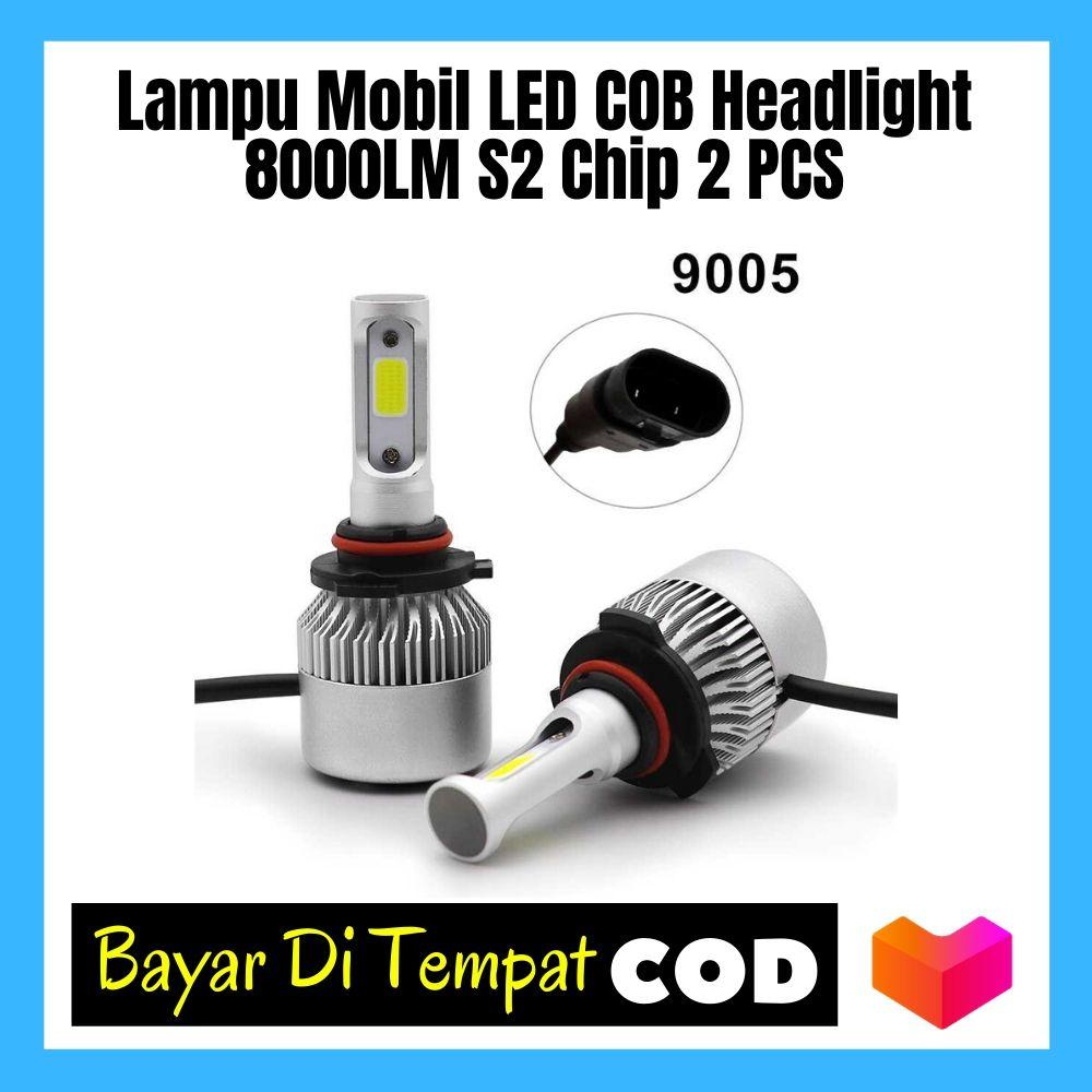 Lampu Mobil Headlight LED H4 COB 2 PCS - C6 / lampu mobil / Lampu mobil variasi / Lampu mobil led / Lampu mobil depan / Lampu mobil h4 / Lampu mobil avanza / Lampu mobil truk / Lampu mobil led depan / Lampu mobil xenia / Lampu mobil headlight hid xenon