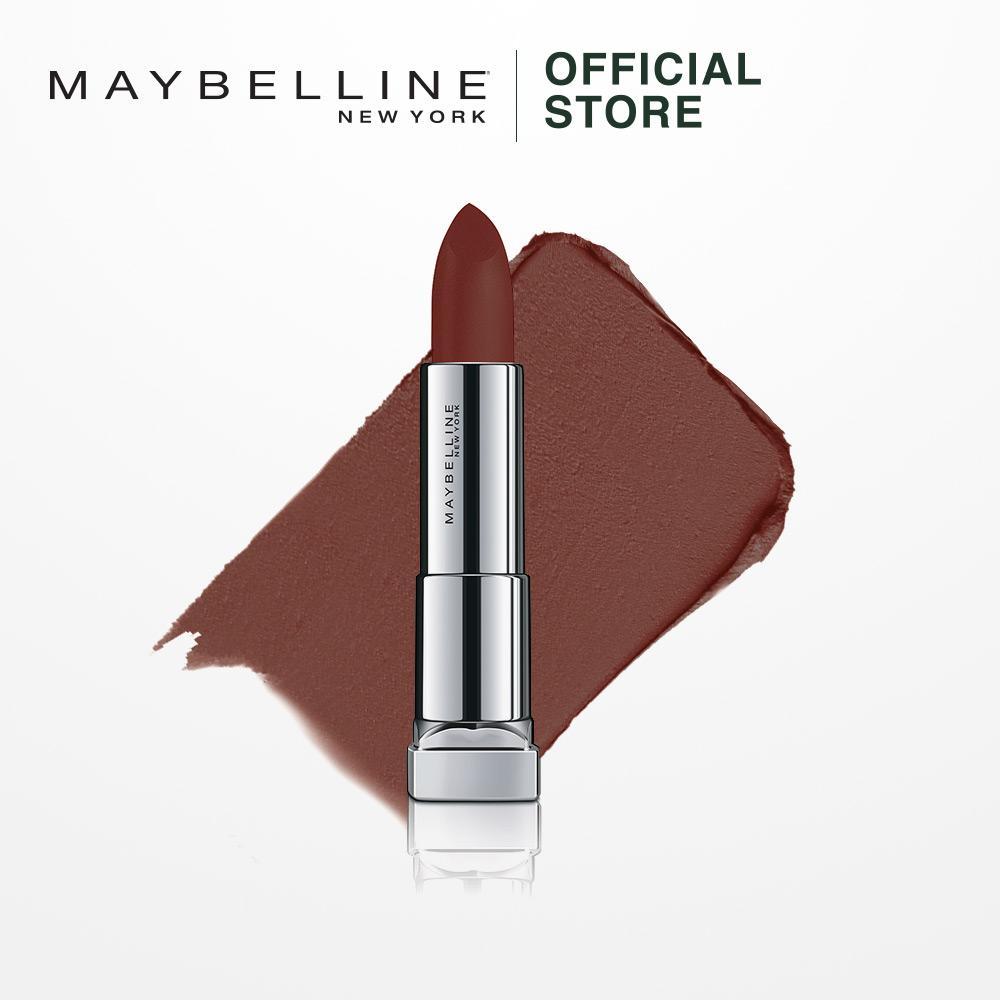 Maybelline Color Sensational Powder Mattes Raw Cocoa - Lipstik Matte Lipstick