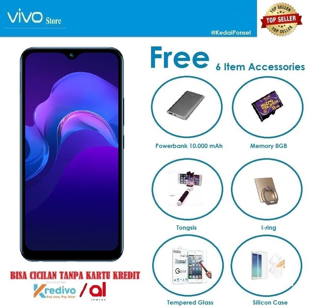 VIVO Y15 [4/64GB] + 6 Item Accessories