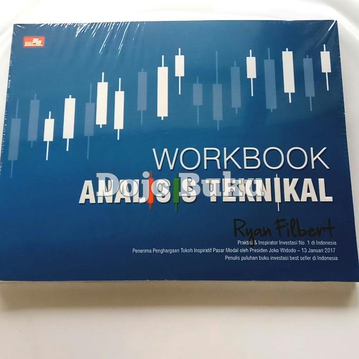 Gilaa!!! Buku Saham Workbook Analisis Teknikal Ryan Filbert Wijaya Trendi
