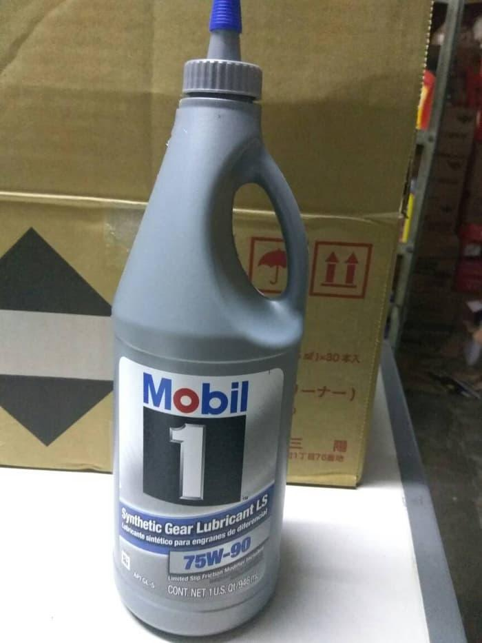 Oli Mobil 1 Full Synthetic Gear Lubricant LS 75W-90 GL-5 Made In USA