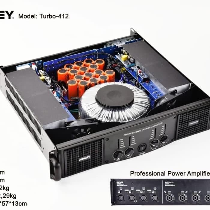 Murah POWER 4 CHANNEL ASHLEY TURBO 4.12 CLASS H