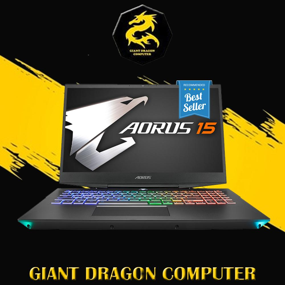 Laptop Gaming GIGABYTE AORUS 15 XA -i7 9750H-16GB-512GB-2TB-RTX 2070-WIN10-15.6 Inch