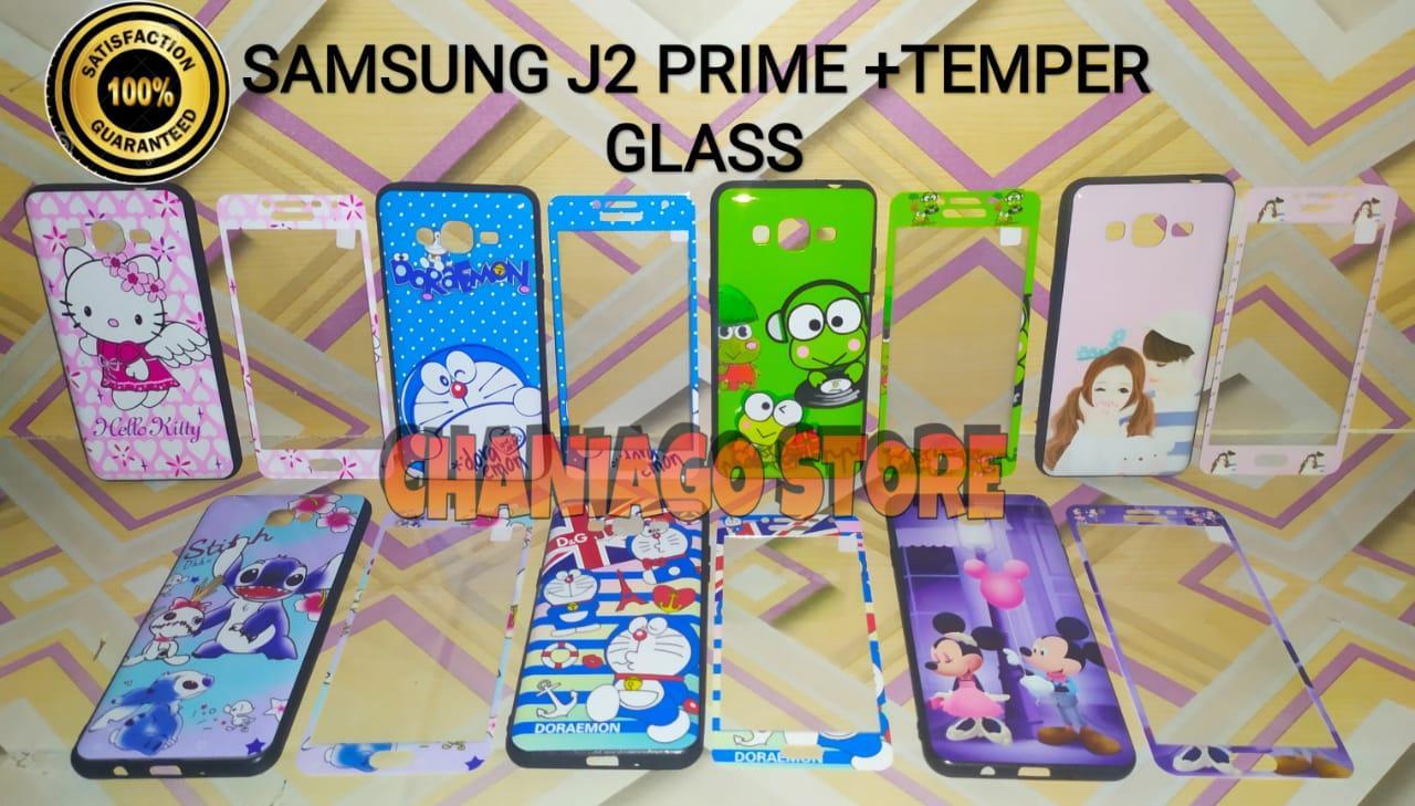 Softcase Unik For Samsung J2 Prime/Grandprime Higth Quality Karakter Free Temper Glass Bisa COD - BY CTR