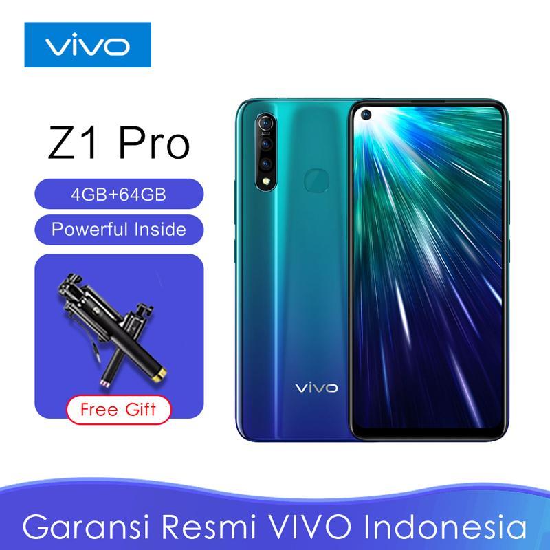"Vivo Z1 Pro RAM 4GB/ROM 64GB/Snapdragon 712 AIE/5000mAh Battery with Dual-Engine Fast Charging/6,53"" FHD Ultra O Screen /Garansi Resmi Indonesia"