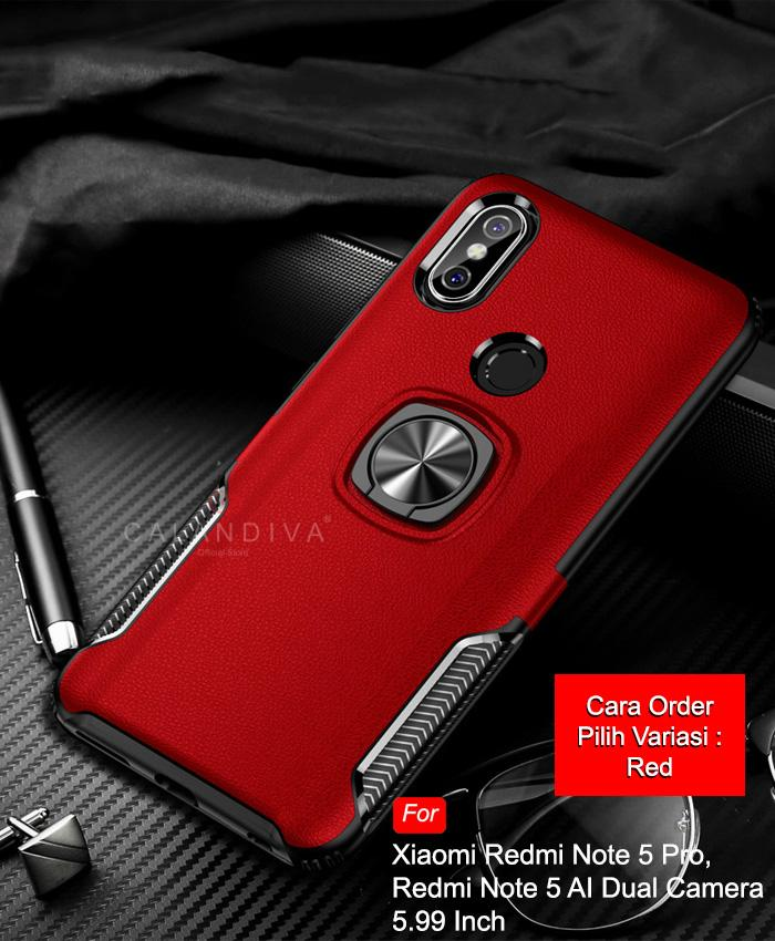 Calandiva Hard Case Xiaomi Redmi Note 5 , Redmi Note 5 Pro (5.99 Inch)