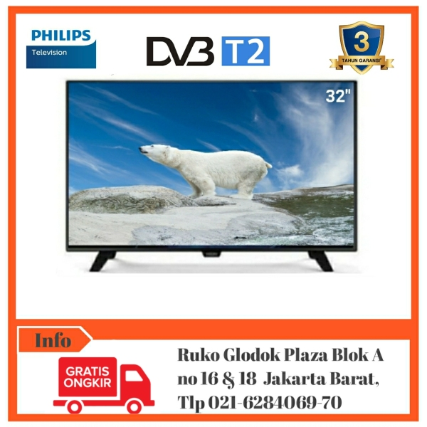 PHILIPS LED 32PHT4002S/70 DIGITAL [Bebas Ongkir]