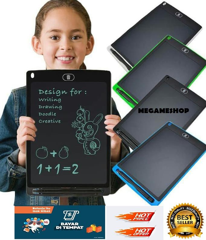 Papan Tulis Gambar Portable / Tablet Anak dan Dewasa 8.5 Inch | Papan Tulis Gambar I Papan Tulis LCD LED I Papan Mengambar LCD LED_MGM27