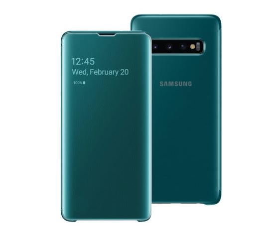 Samsung Clear View Cover Galaxy S10+ / S10 Plus ( Hanya Casing/Cover) - Original