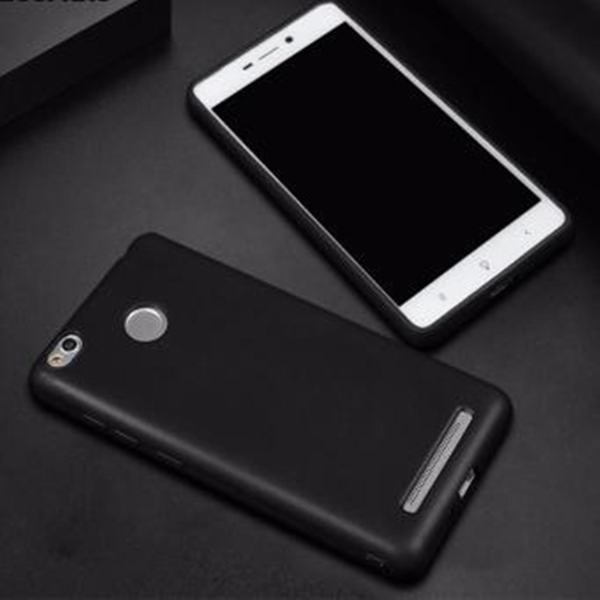Mika HP Xiaomi Redmi 3 Pro / 3S Softcase Matte Spasial Edisi Black