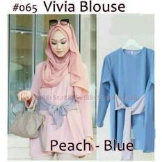 #065 Vivia Blouse ( RESELLER 2@42RB)