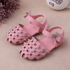 Spesifikasi 1 3 Tahun Bayi Perempuan Satu Tali Sandal Ujung Tertutup Bunga Sepatu Princess Sepatu Menari Pink Intl Oem Terbaru