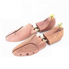 1 Pair dari Pohon Kayu Tandu Pembentuk Keeper Adjustable Lebar --- Pria 45-46 (Intl)