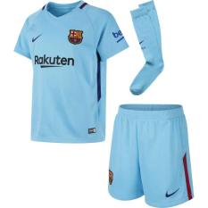 Harga 1 Set Jersey Barcelona Away 17 18 Go New
