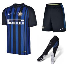 Harga 1 Set Jersey Inter Milan Home 17 18 Go Original
