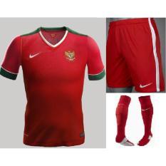 Katalog Ahmar Store Fullset Jersey Timnas Indonesia Home Merah 17 18 Go Jersey Terbaru